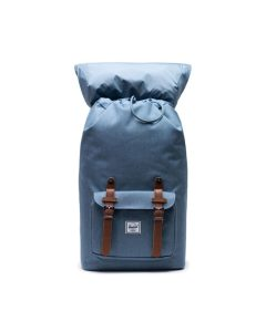 Herschel Supply Co Little America Backpack Blue Mirage Crosshatch Open
