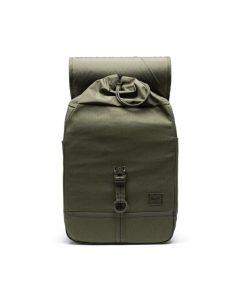 Herschel Supply Co Purcell Backpack Surplus Ivy Green Open