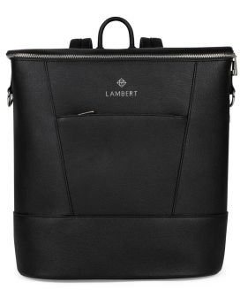 Lambert Mia Diaper Backpack Black Front