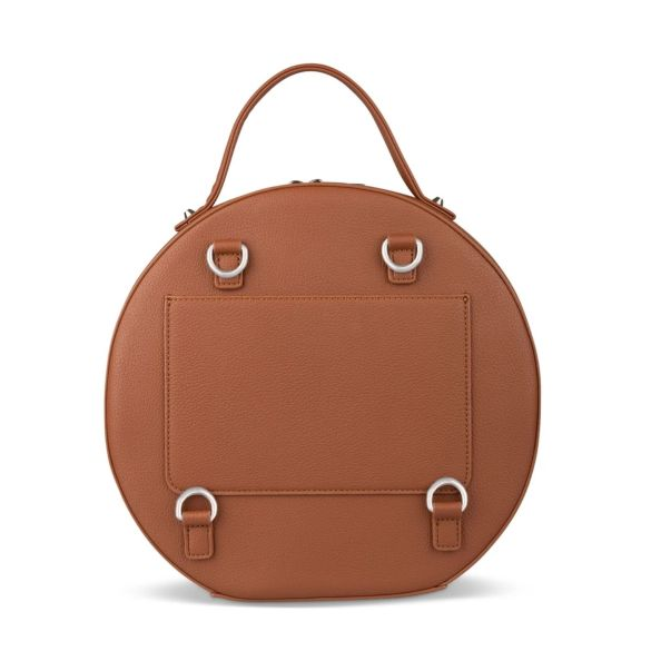 Lambert Olivia Backpack Tan Back