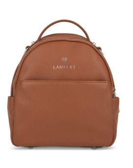 Lambert Charlie Mini Backpack Tan Front 1