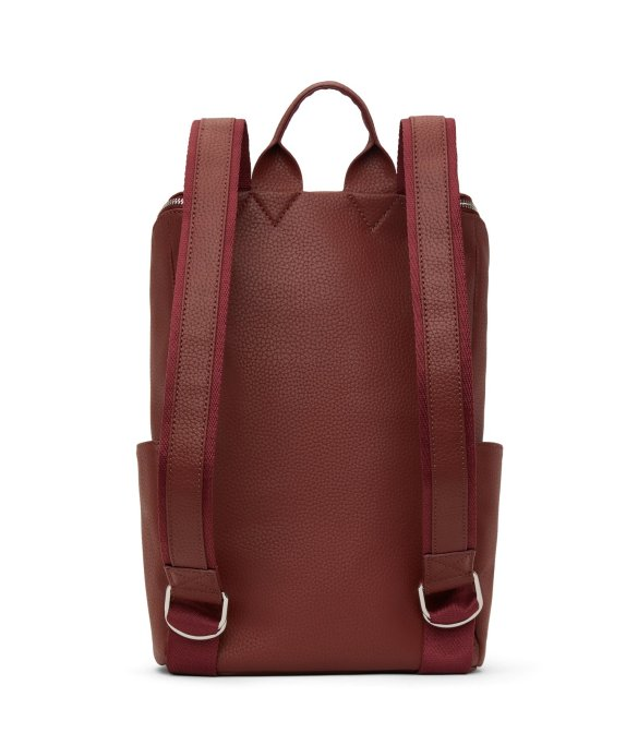 Matt and Nat Brave Backpack Purity Collection Beet Back