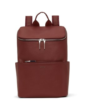 Matt and Nat Brave Backpack Purity Collection Beet Front