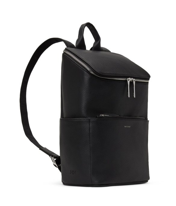 Matt and Nat Brave Backpack Purity Collection Black Side