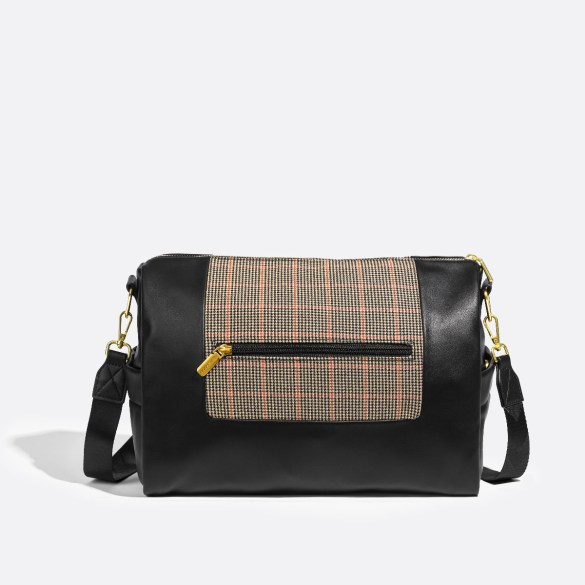 Pixie Mood Olivia Crossbody Tartan Back