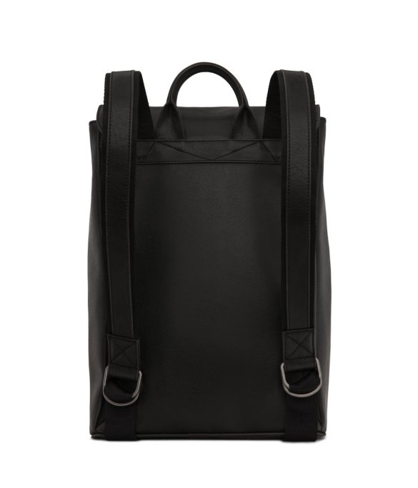Matt and Nat Fabi Backpack Vintage Collection Black FW20 Back