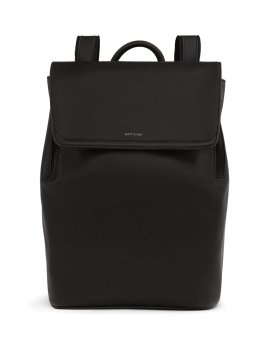 Matt and Nat Fabi Backpack Vintage Collection Black FW20 Front