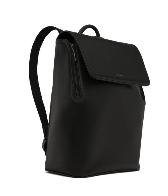 Matt and Nat Fabi Backpack Vintage Collection Black FW20 Side