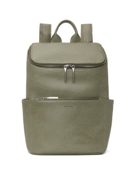 Matt and Nat Brave Backpack Dwell Collection Matcha Front