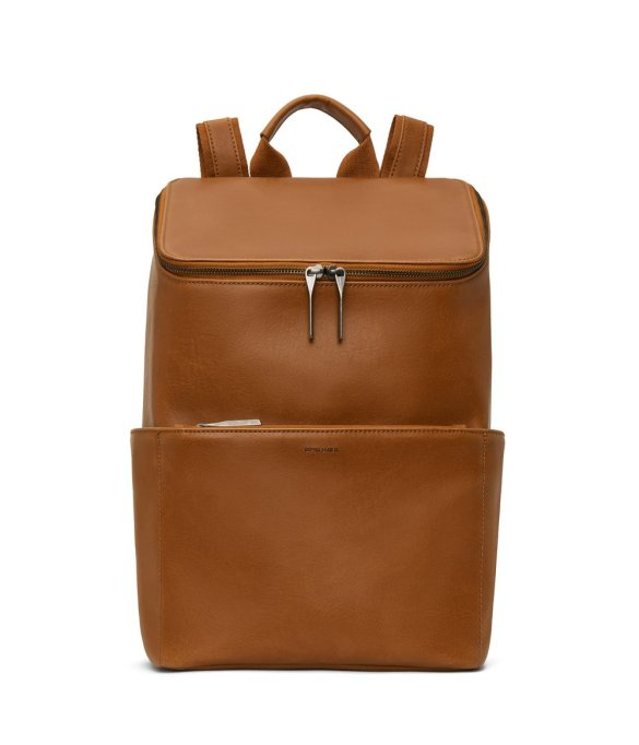Matt and Nat Dean Backpack Vintage Collection Chili Matte Nickel Front