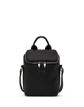 Matt and Nat Brave Micro Crossbody Purity Collection Black Front