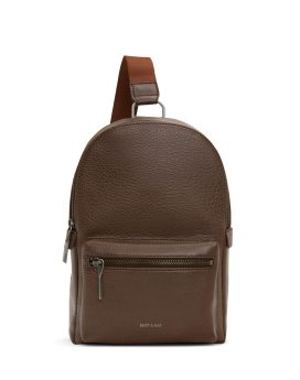 Matt and Nat Voas Small Sling Dwell Collection Chestnut Front