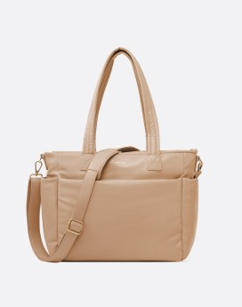 Pixie Mood Bubbly Tote Front Sand