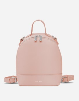 Pixie Mood Cora Backpack Small Misty Rose Front