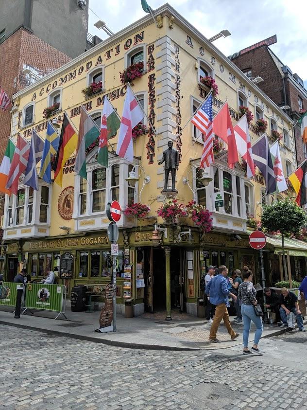 Pub in Dublin city centre