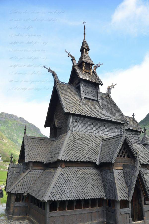 Деревянные церкви Норвегии – Family's blog