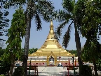 Myanmar monastery.