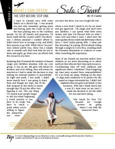 TajiMag article tear sheet