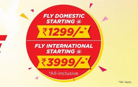 Spicejet Desh Videsh Ghoomo Sale - Offer Details