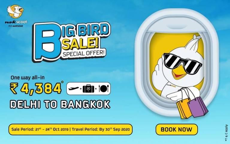 NokScoot Big Bird Sale-21-24-Oct-2019