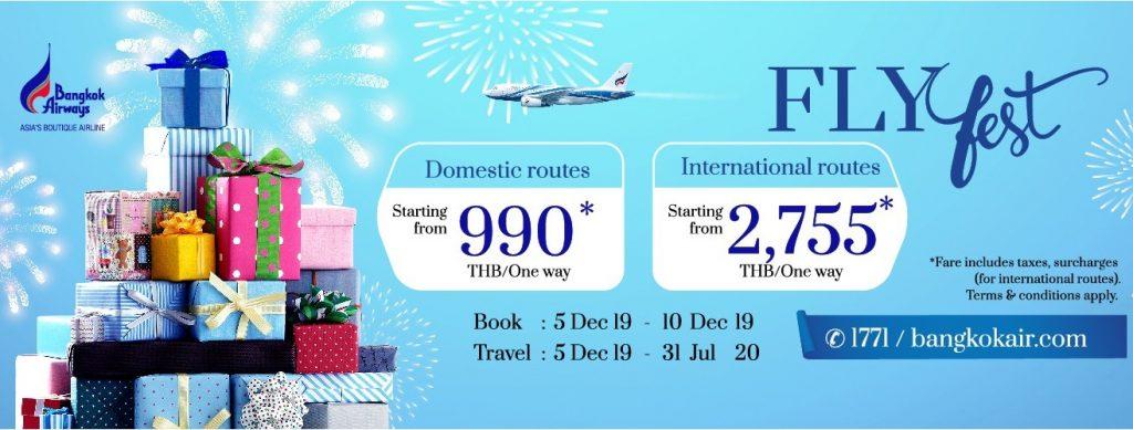 Bangkok Airways FlyFest Sale
