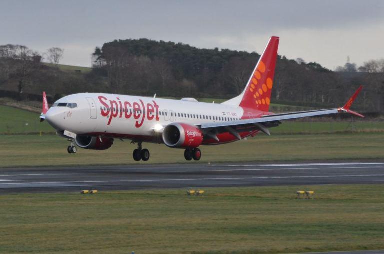 SpiceJet Delhi Durgapur Flight