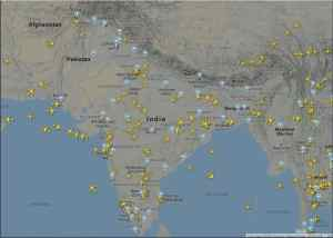 532 flights operated on Day 1