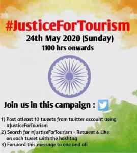 #JusticeForTourism