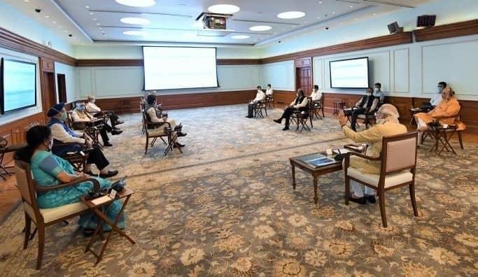 PM Modi discuss Civil Aviation Sector