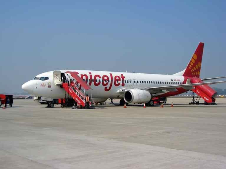 Spicejet chartered flight from UAE