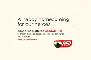 AirAsia India Discounted Tickets For Armed Forces