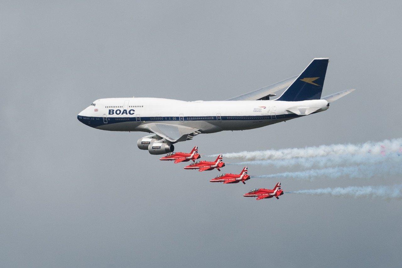 British Airways retire first Boeing 747