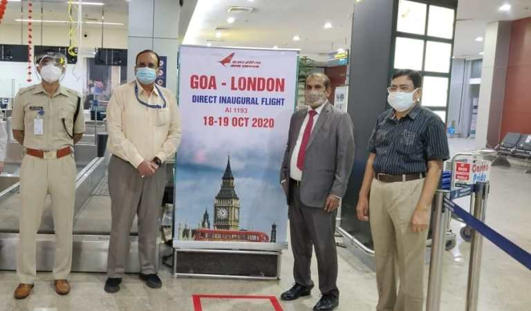 Air India Goa London