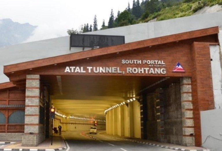 Atal Tunnel World's longest Highway tunnel