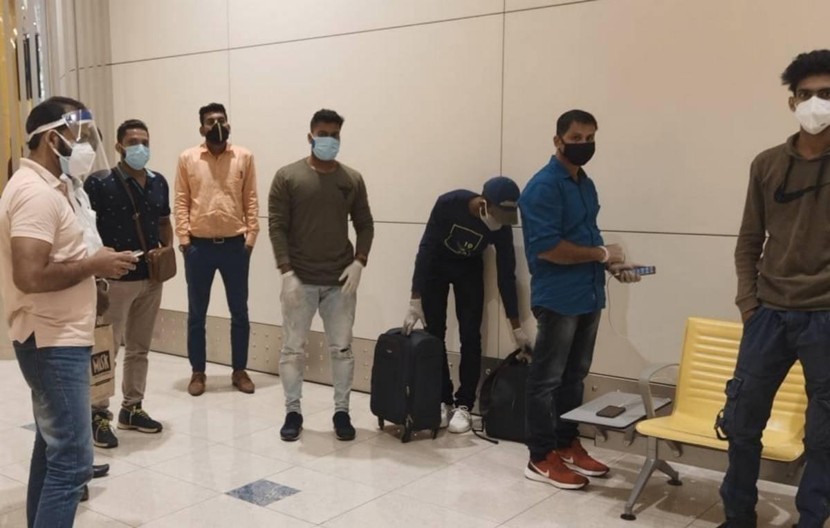 Indians Stranded At Dubai Airport