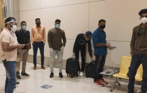 Indians Stranded At Dubai Airport