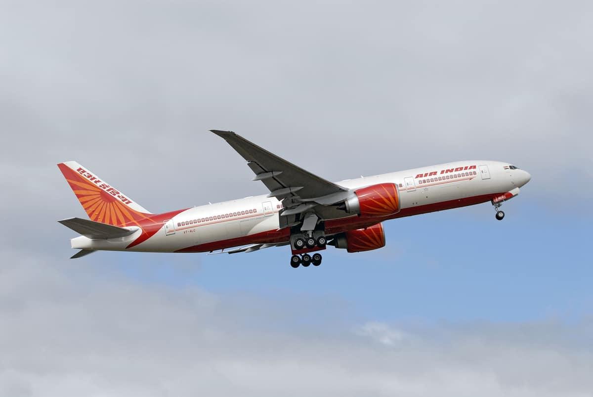 Air India Direct Flight Bengaluru San Francisco