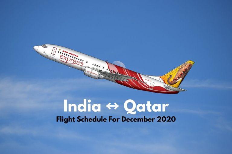 Air India Express Qatar December