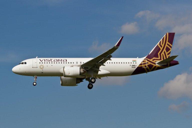 Vistara Flights Mumbai London