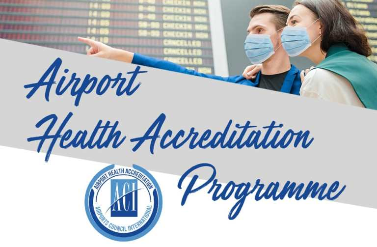 Airports Gets ACI Airport Health Accreditation
