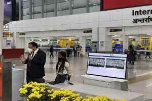 Delhi Airport Xovis system