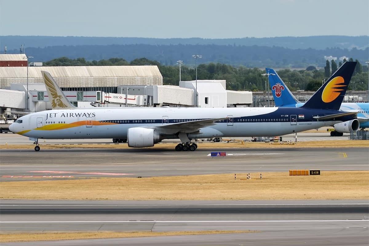NCLT Jet Airways Slots