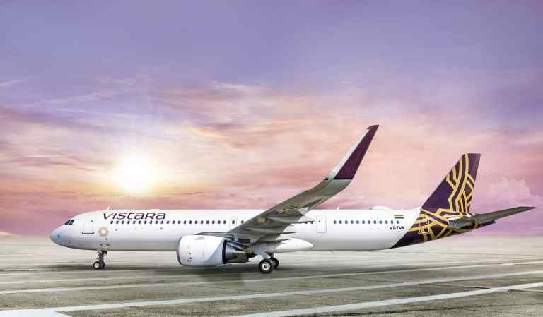 Vistara Non-stop Flight Delhi Frankfurt