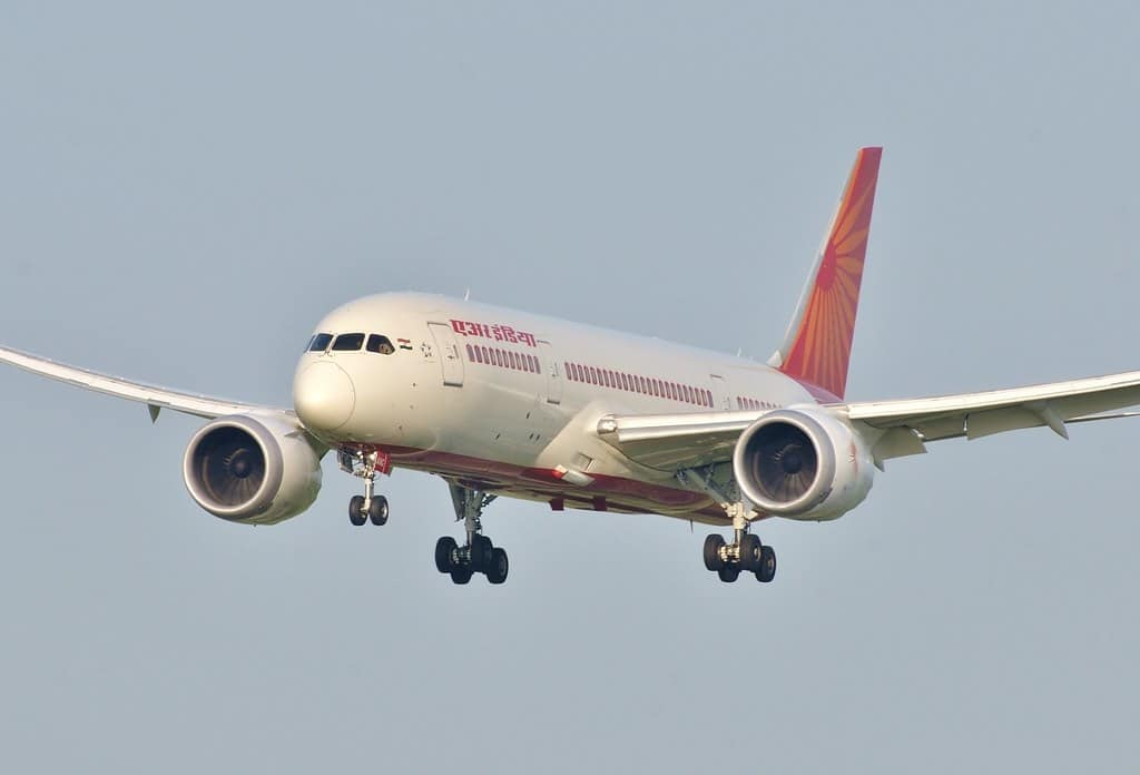Air India International Flights on February 04