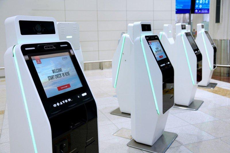 Emirates Self Check-in Kiosks