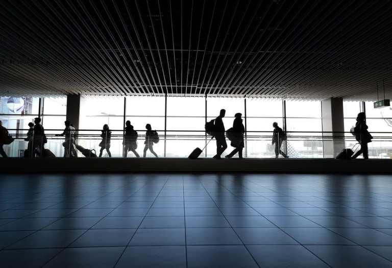 International Tourists Count Drops 75%