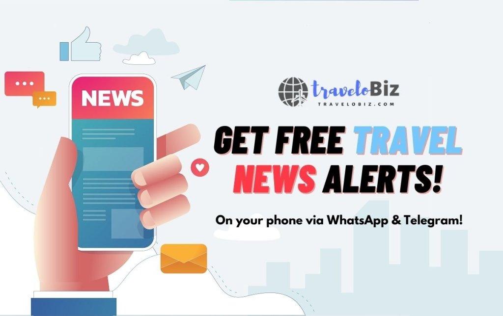 Get Free Travel News Alerts