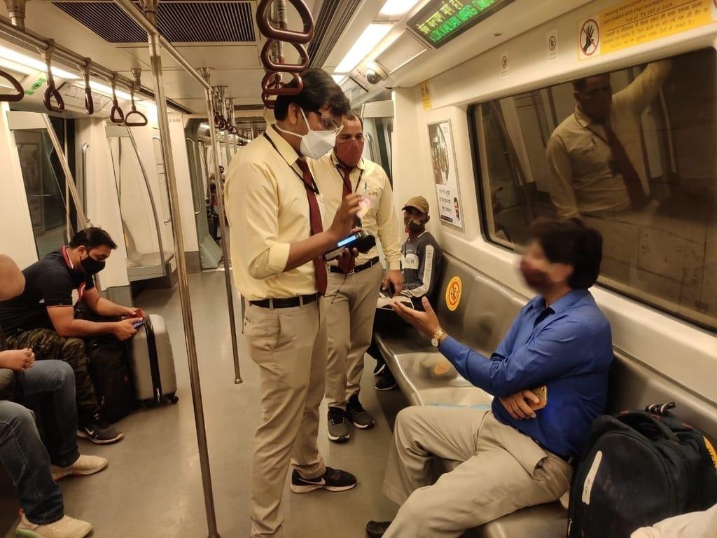 Delhi Metro Travel Guidelines