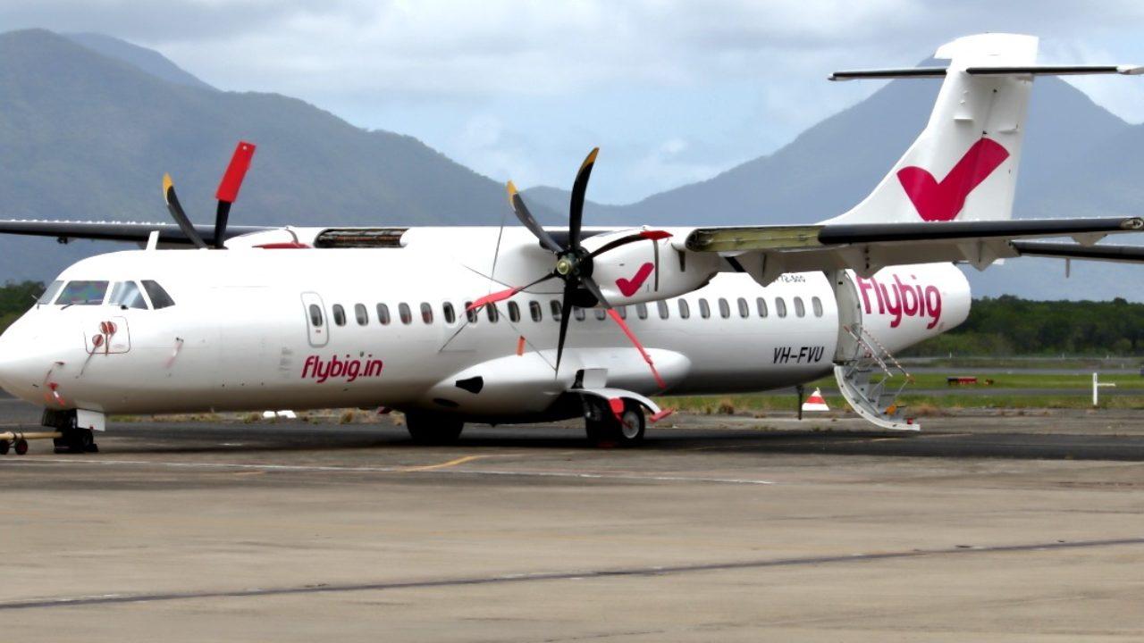 Flybig Flights Between Pasighat and Guwahati