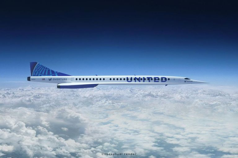 United Airlines Sign Agreement With Boom Supersonic